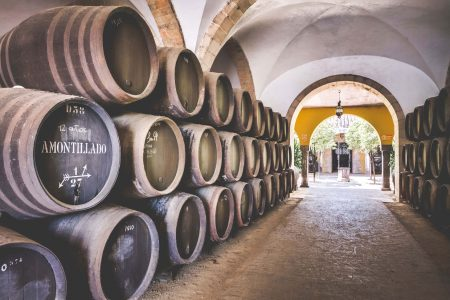 Diez Merito Pemartin Barrel Room