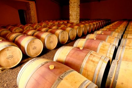 Barrel room chateau cablanc