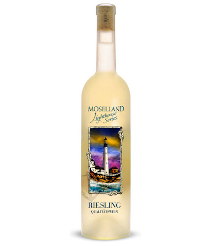 Moselland Ars Vitis Riesling - Lighthouse Scene