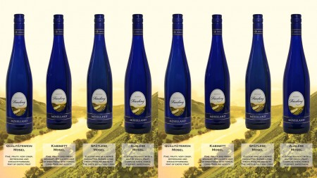 Moselland Wines - Blue Bottles