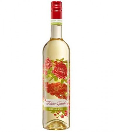 Flower Garden Riesling Bottle Shot