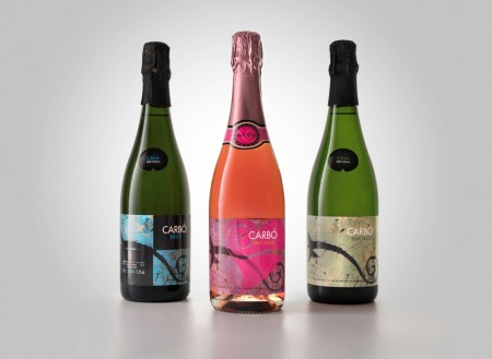 Carbo Cava wine bottles