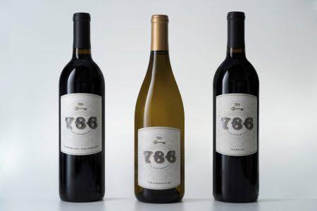786 Wines - 3 Bottles CA