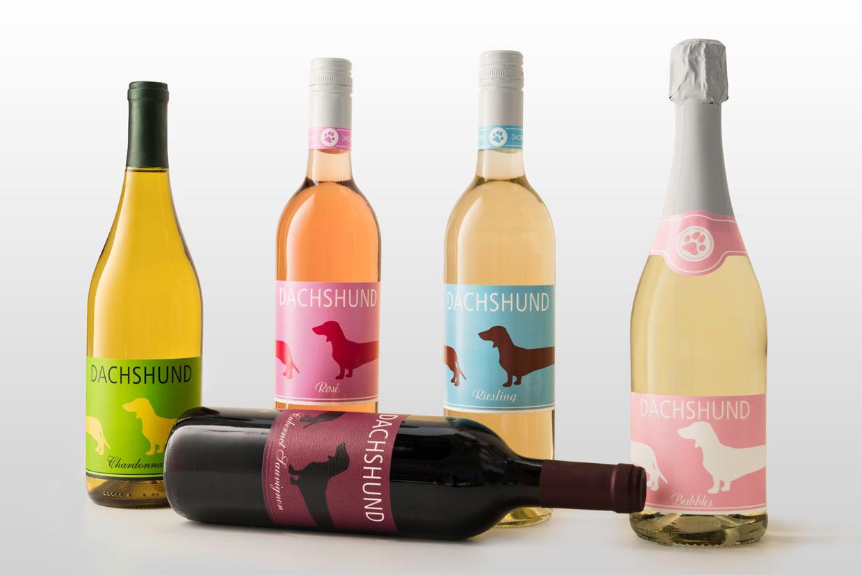 Dachshund Wines 5 bottles