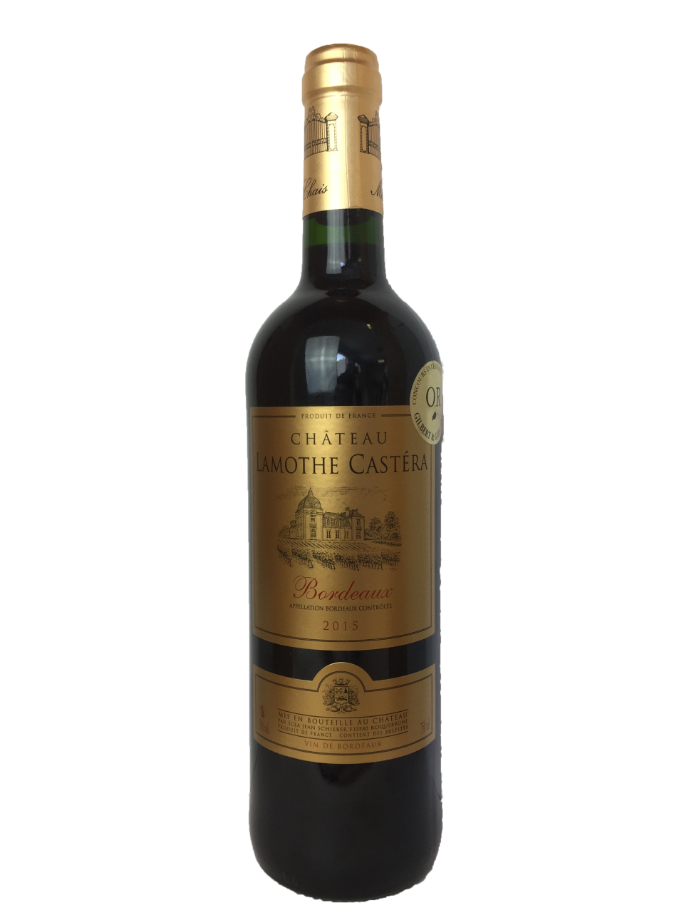 Chateau Lamothe Castera Bordeaux Wine
