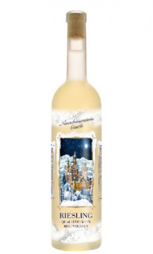 Moselland Ars Vitis Riesling – Winter Castle Scene